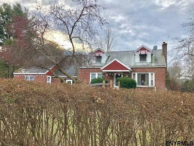 New Scotland Single Family Home For Sale: 615 Rowe Rd