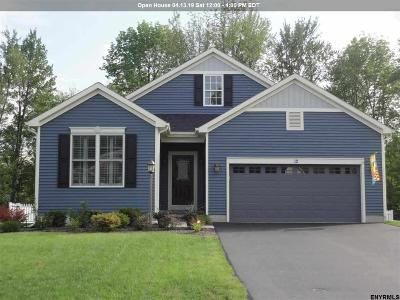 Mechanicville, Stillwater Single Family Home For Sale: 19 Howland Park Dr