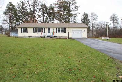 Voorheesville NY Single Family Home Back On Market: $199,900