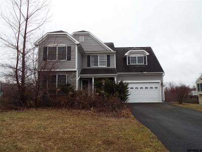 Cohoes Single Family Home For Sale: 13 Hilltop Dr