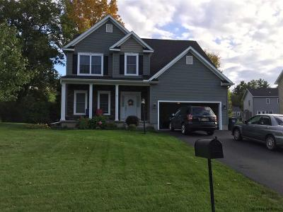 Mechanicville, Stillwater Single Family Home For Sale: 9 Jennifer Dr