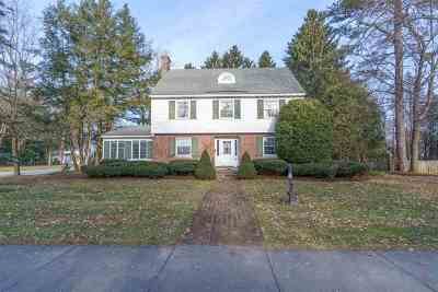 Saratoga Springs NY Single Family Home For Sale: $999,000