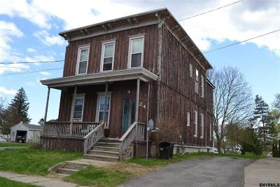 Johnstown NY Multi Family Home For Sale: $99,900