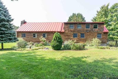 Duanesburg Single Family Home For Sale: 1130 Youngs Rd