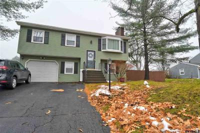 Cohoes Single Family Home For Sale: 67 Pike Creek Dr