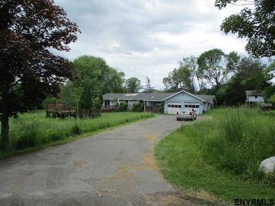 Columbia County Single Family Home For Sale: 54 Cemetery Rd