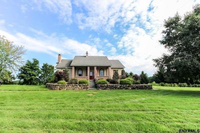 Saratoga County Single Family Home For Sale: 400 Devils La