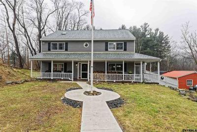 North Greenbush Single Family Home For Sale: 412 Snyders Lake Rd