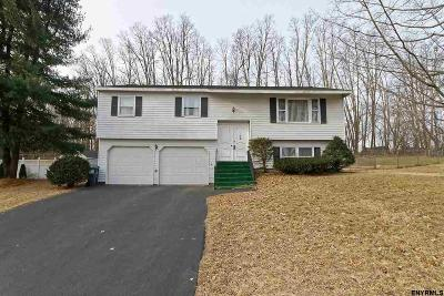 Colonie Single Family Home For Sale: 8 Skyline Dr
