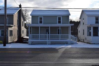 Saratoga County Single Family Home For Sale: 58 Gates Av