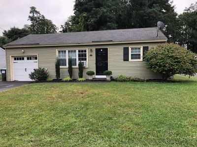 Colonie Single Family Home Price Change: 66 Cordell Rd