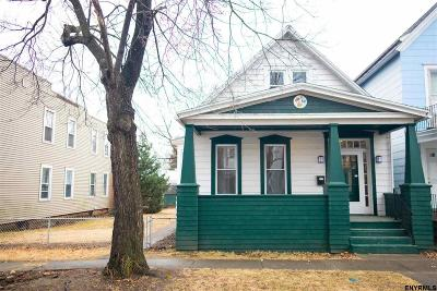 Troy Single Family Home Price Change: 421 6th Av