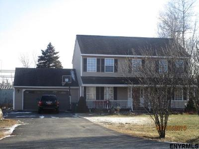 Colonie Single Family Home For Auction: 578 Columbia St Ext