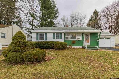 Scotia Single Family Home For Sale: 25 Pershing Dr