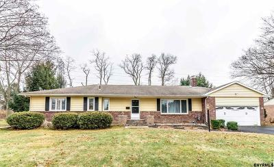Colonie Single Family Home For Sale: 8 Delucia Ter