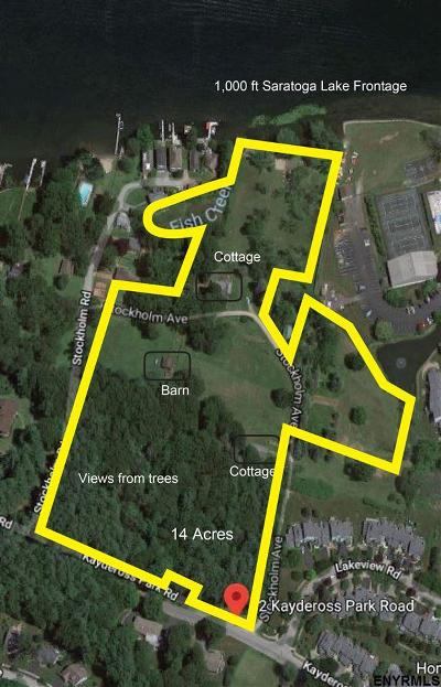Saratoga Springs Residential Lots & Land For Sale: 62 Kaydeross Park Rd