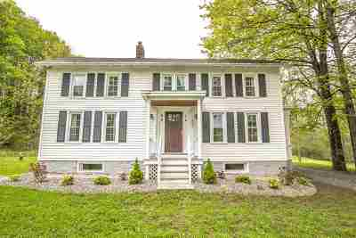 Greenfield, Corinth, Corinth Tov Single Family Home For Sale: 487 Middle Grove Rd