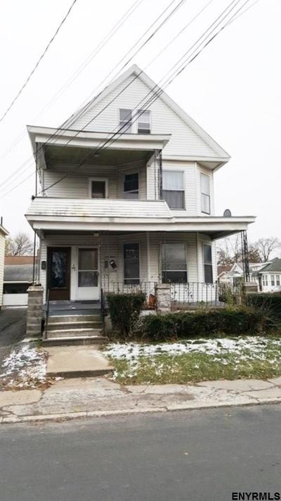Schenectady Multi Family Home For Auction: 326-328 Michigan Av