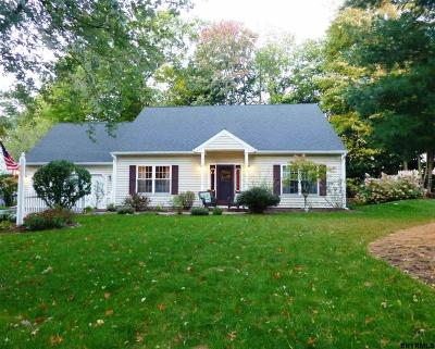 Saratoga County Single Family Home New: 30 Feather Foil Way