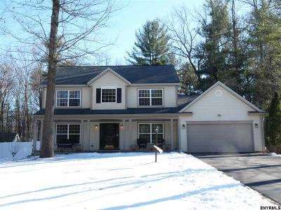 Saratoga County Single Family Home For Sale: 4 Overlook Dr