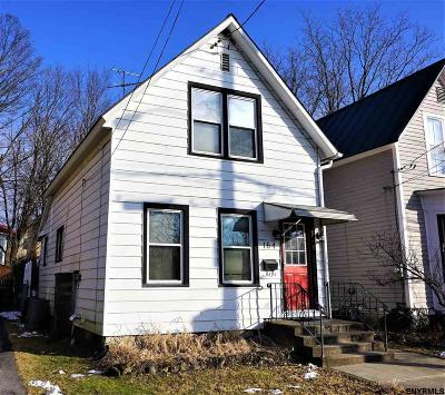 Saratoga Springs Single Family Home For Sale: 164 Clinton St