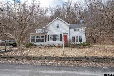 Voorheesville Single Family Home For Sale: 177 Rock Hill Rd