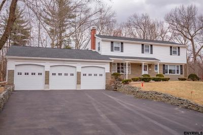 Clifton Park Single Family Home For Sale: 36 Hemlock Dr