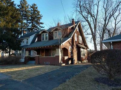 Troy NY Single Family Home Pend (Under Cntr): $125,000