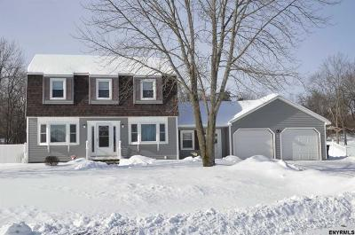 Saratoga County Single Family Home New: 3 Gurba Dr