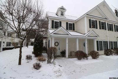 Saratoga Single Family Home For Sale: 326 Ballston Av #5