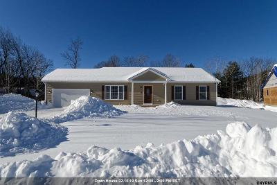 Saratoga County Single Family Home New: 32 Wiley Way