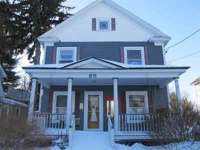 Glens Falls Single Family Home For Sale: 69 Hunter St