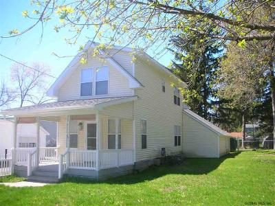 Saratoga Springs Single Family Home For Sale: 15 Van Rensselaer St