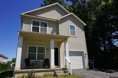 Saratoga Springs Single Family Home For Sale: 170 Jefferson St