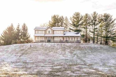 Poestenkill Single Family Home For Sale: 495 Rt 355