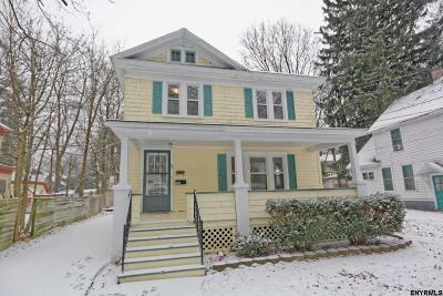 Ballston Spa Single Family Home For Sale: 34 Columbia Av
