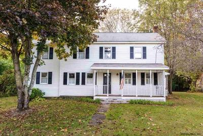 Saratoga County Single Family Home For Sale: 892 Main St