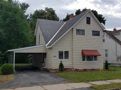 Schenectady Single Family Home For Sale: 305 Eleventh St