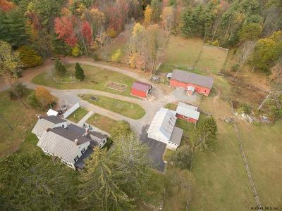 Saratoga County Single Family Home For Sale: 240 Spier Falls Rd