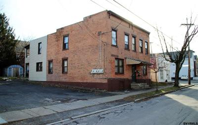Schenectady Multi Family Home For Sale: 304-06 Front St