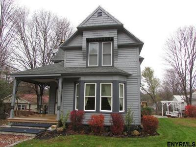 Saratoga County Single Family Home For Sale: 4143 Rockwell St