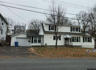 Albany NY Single Family Home For Sale: $105,100