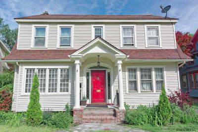 Schenectady Single Family Home For Sale: 831 Decamp Ave