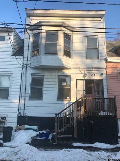 Albany Two Family Home For Sale: 21 Slingerland St