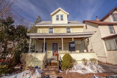 Schenectady Single Family Home For Sale: 21 Manchester Rd