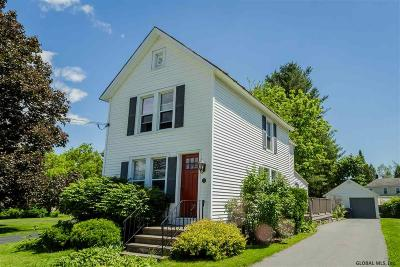 Saratoga Single Family Home For Sale: 12 Newton Av