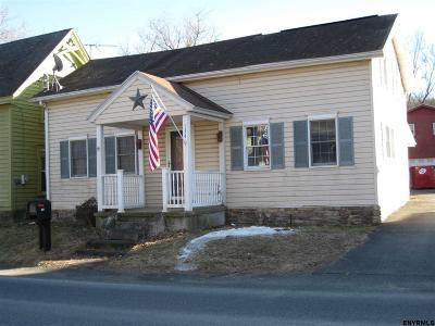 Valley Falls NY Single Family Home For Sale: $130,000