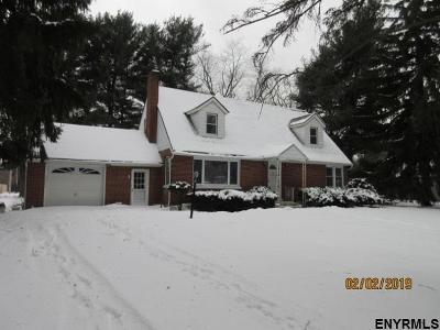 Colonie Single Family Home For Sale: 3 Dennis Av