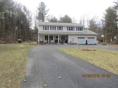 Greenfield, Corinth, Corinth Tov Single Family Home Price Change: 25 Canyon Crossing Rd