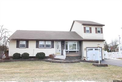 Colonie Single Family Home For Sale: 14 Hawthorne Ct